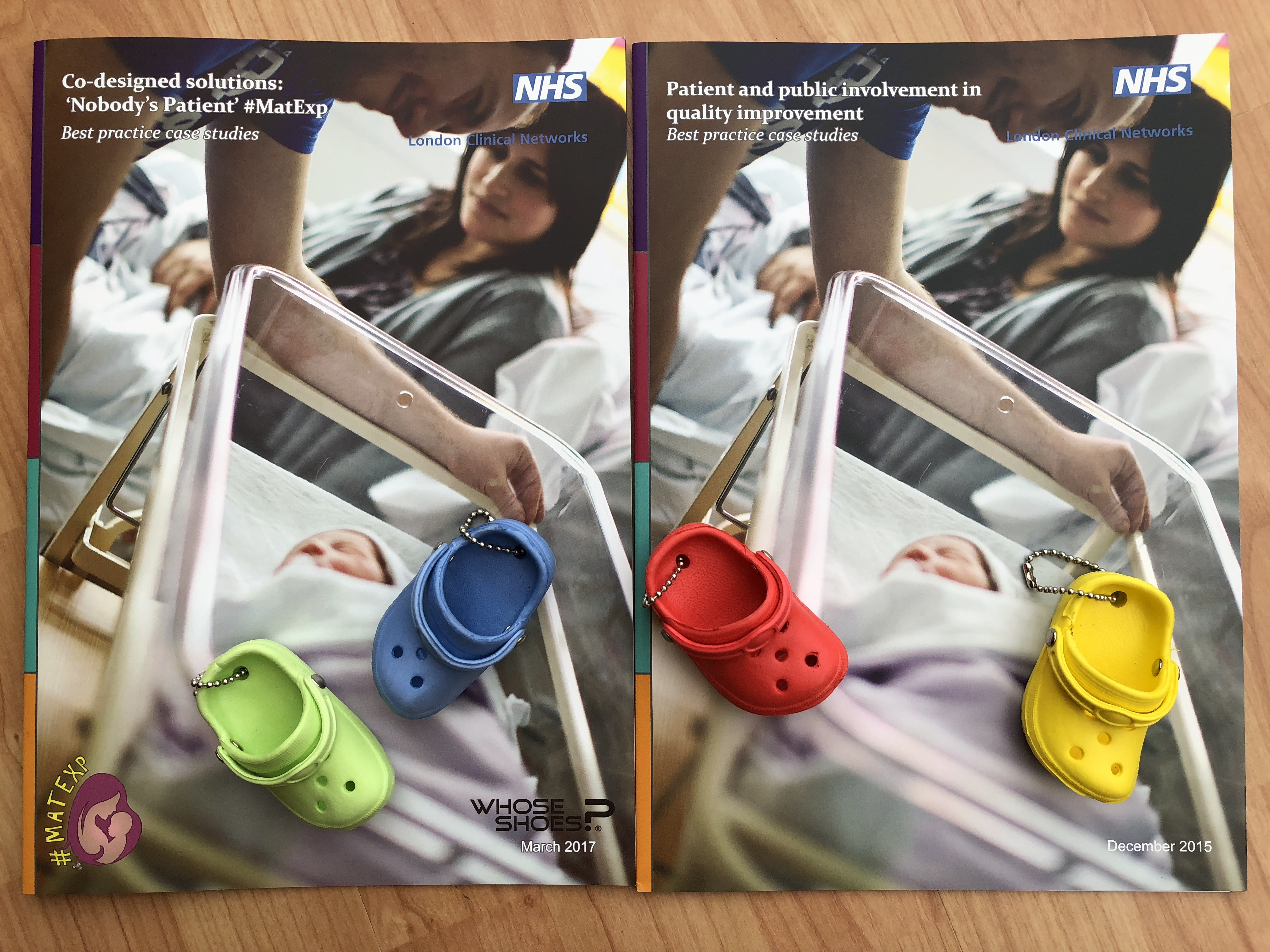 Case studies – 2 booklets with shoes
