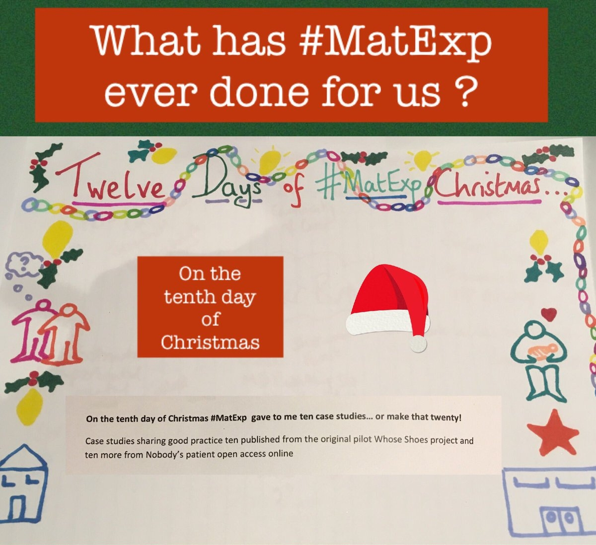MatExp 12 days of Christmas Day 10