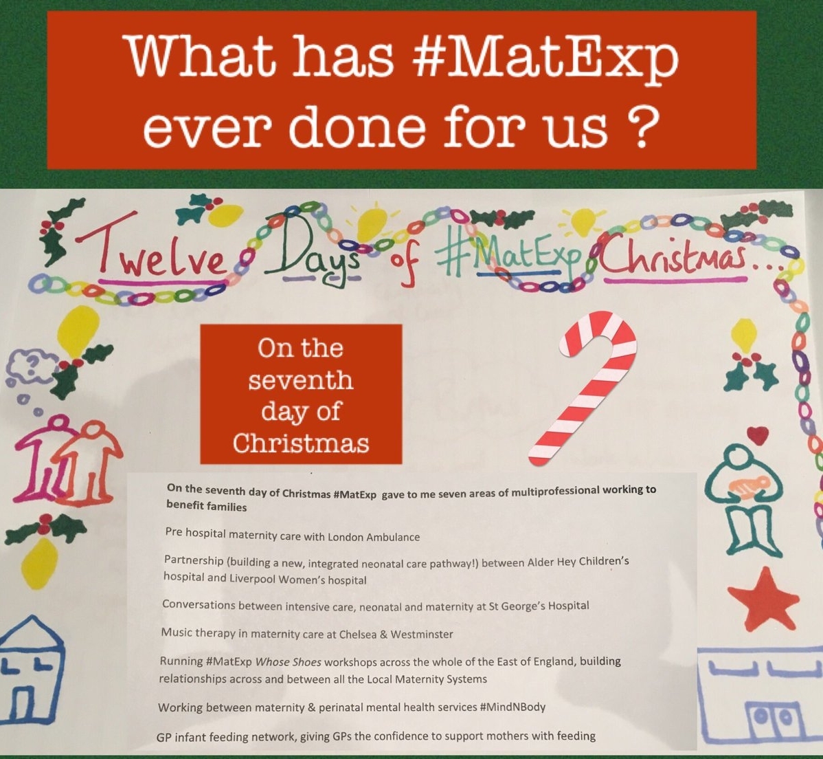 MatExp 12 days of Christmas Day 7