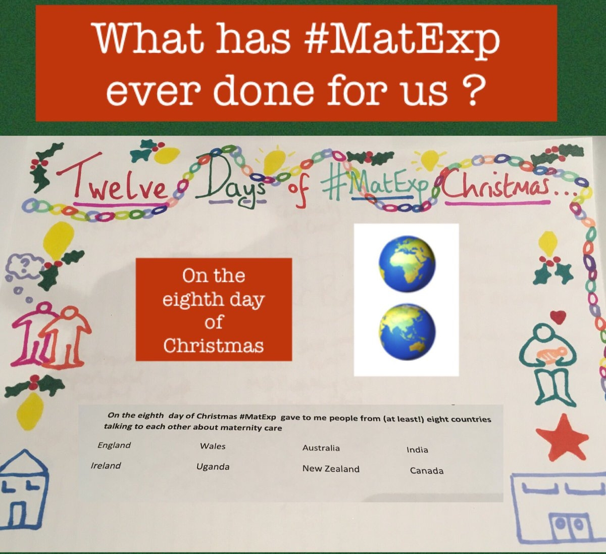MatExp 12 days of Christmas Day 8
